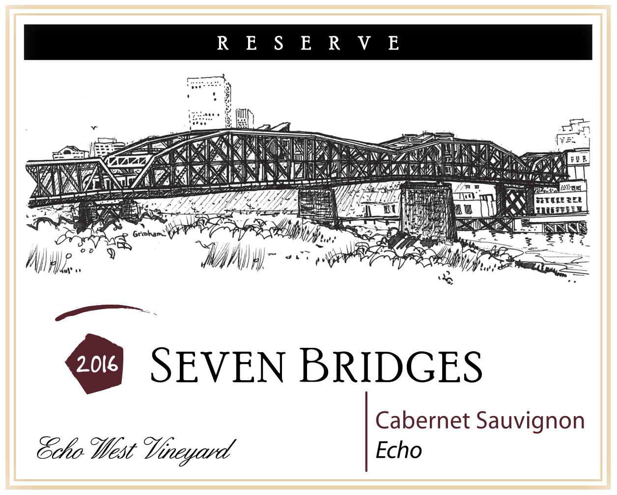 Product Image for 2016 Echo Cabernet Sauvignon Reserve